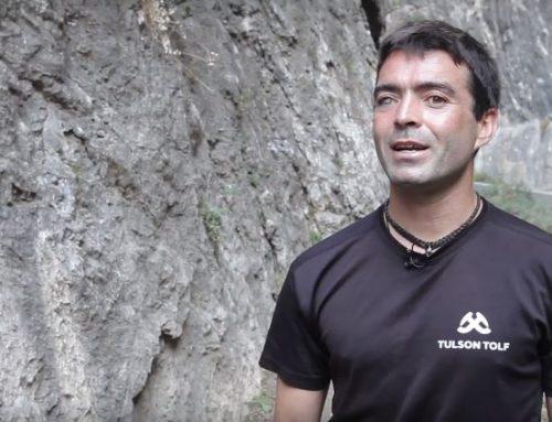 Javier Aguilar, un campeón del mundo de paraescalada que desafía a la gravedad
