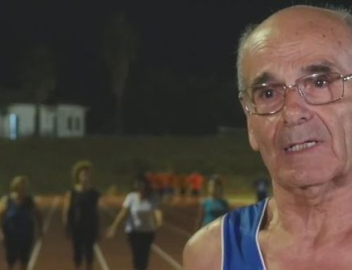 Diego Eslava, un campeón de atletismo de 72 años que corre 2.000 kilómetros anualmente