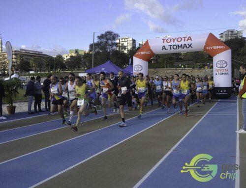 Ahmed Baday y Janine Lima se imponen en la Media Maratón de Algeciras